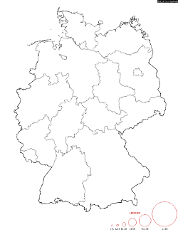Germany Surname Map