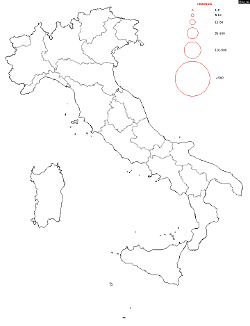 Italy Surname Map