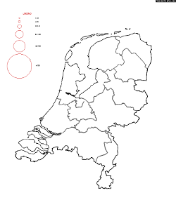 Netherlands Surname Map
