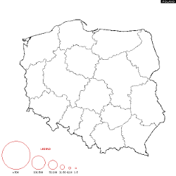 Poland Surname Map