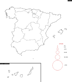 Spain Surname Map